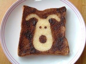 アルミホイル1枚で食パンを楽しくする方法 - NAVER まとめ  Toast avec des motifs
