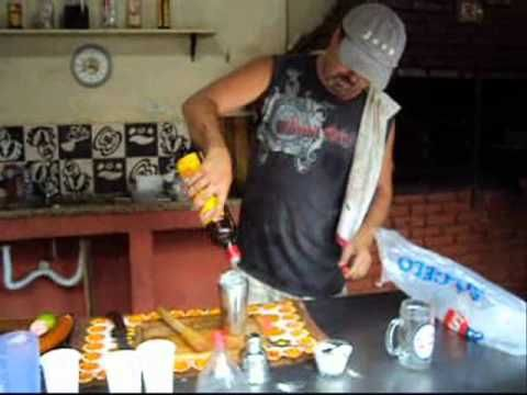 Arroz na Garrafa Pet (Carreteiro) Nota, pode ser tóxico quando a garrafa esquentar.