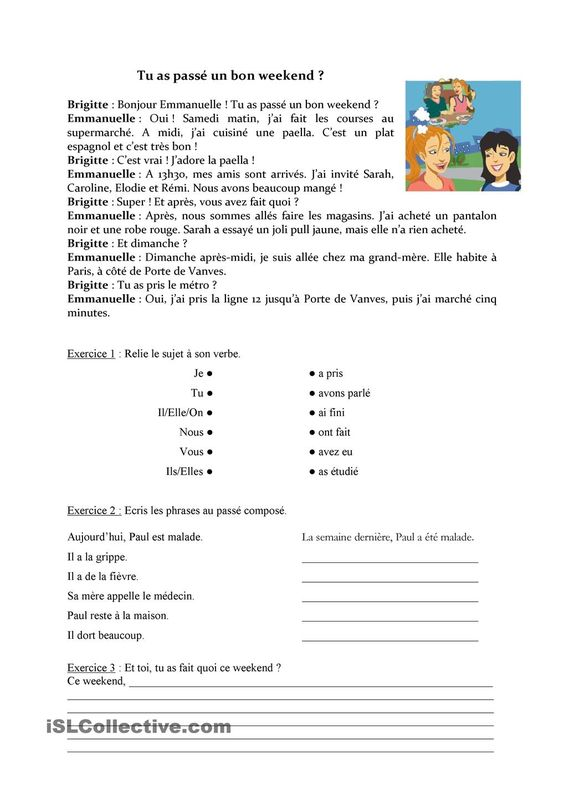 FREE French tenses review board game French Language Pinterest - resume format without experience