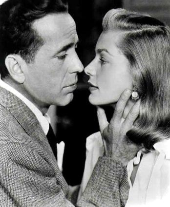 Humphrey Bogart and Lauren Bacall via angelsplead: Three of the World's Famous Couples!