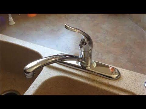 Fast Leaky Faucet Fix Moen 1225 Cartridge Replacement Moen Kitchen Faucet Moen Kitchen Leaky Faucet