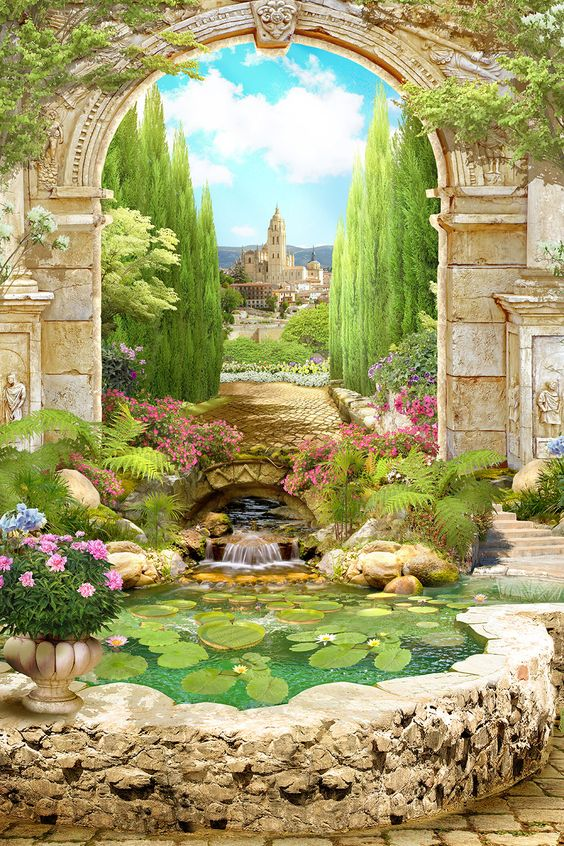 Order Lilly Pond Mural to create fantastic wall decor in your living space or browse thousands of other murals at Print A Wallpaper. Order Now!!