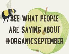 Organic September on social media