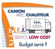 Budget serré pour un déménagement ? Demandez un devis camion avec chauffeur #lowcost #GentlemenDeménagement