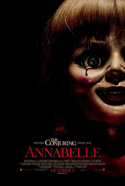Annabelle 27x40 Movie Poster (2014)