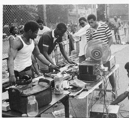 Hip Hop started out in the park...