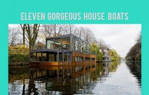 Picture tumblr_m7lixy3kk01rufhw2o1_400 «   Home: Eleven Gorgeous House Boats | justb.