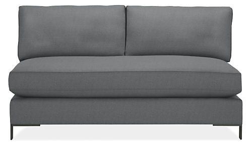 Altura Armless Sofa Modern Sofas Loveseats Modern Living Room Furniture Love Seat Modern Furniture Living Room Armless Sofa