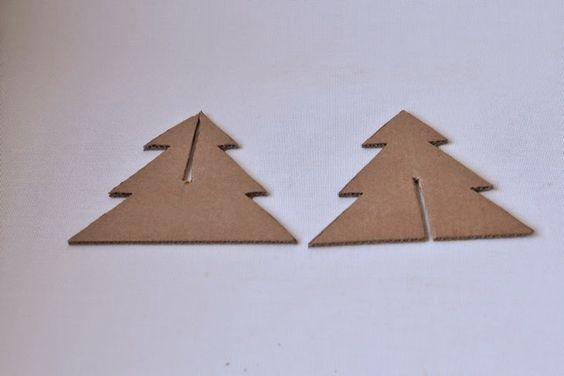Como veo que estamos todos en modo navideño os propongo un DIY súper fácil que queda monísimo en cualquier rincón.  Se trata de hacer u...