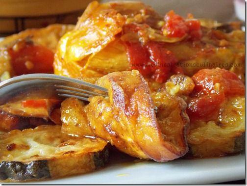 Tajine poulet aux aubergines plat algerien tres facile.