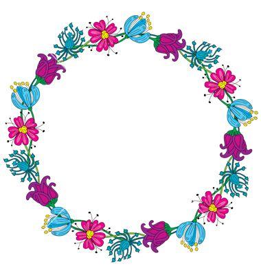 Psiu Noiva - Mais de 30 Frames Florais Para Download Grátis 25