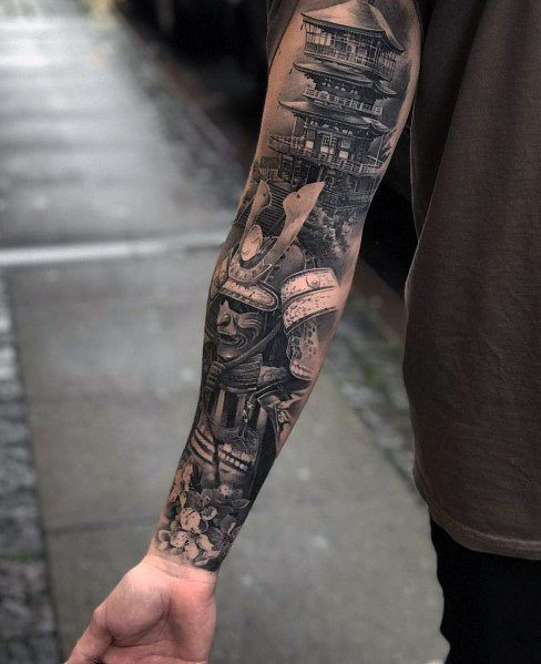 Big Tattoo Designs For Gentlemen Tattoos For Guys Buddha Tattoo Sleeve Samurai Tattoo Sleeve