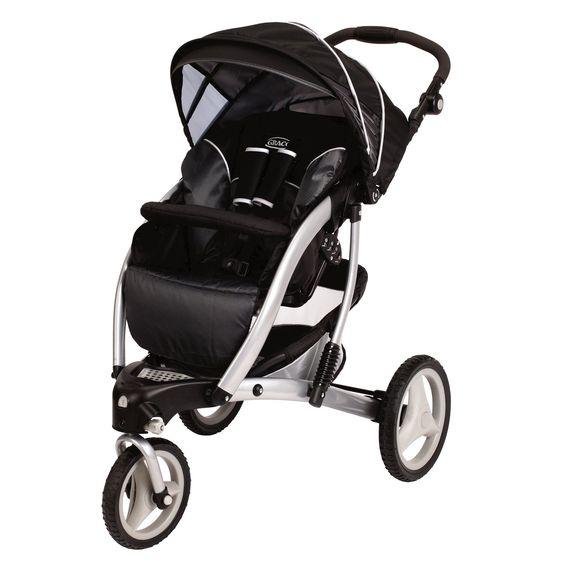 Graco Trekko 3-Wheel Stroller - Metropolis .... I love all the ...