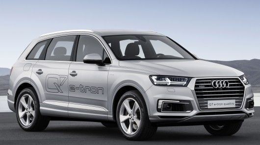 The Audi Q7 Hybrid is Targeted Towards the Chinese Auto Market #autos trendhunter.com