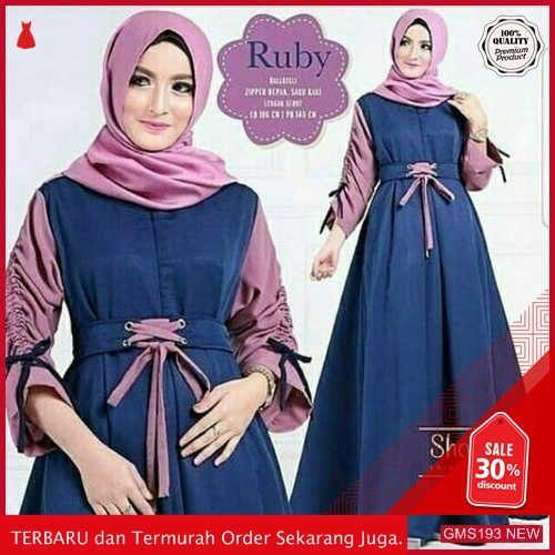Gms193 Tytrs193r55 Ruby Dress Terbaru Cantik Dropship Sk1440009463