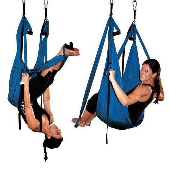 Colorido anti-gravedad yoga aérea hamaca gimnasia deportes aparatos de ejercicios para bajar de peso yoga swing pera de boxeo para gimnasio(China (Mainland))