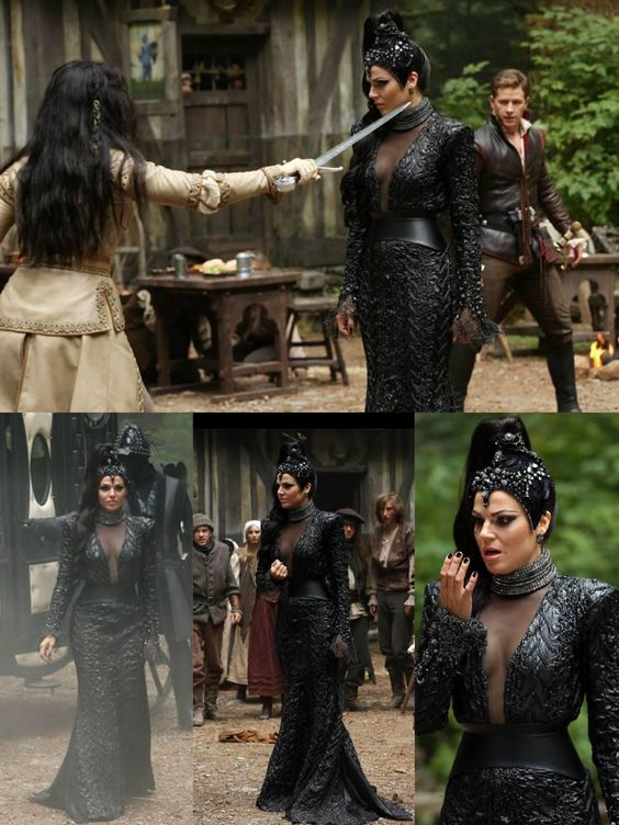OUAT Promotional Photos Season 3 The evil Queen....Lana Parrilla