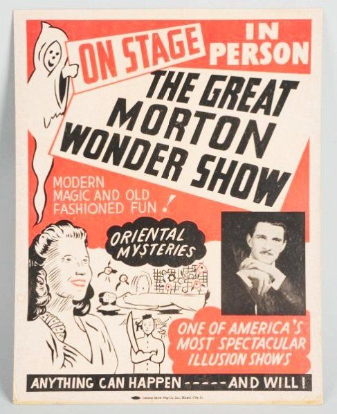 The Great Morton Wonder Show