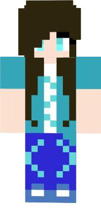 Minecraft Spielen Deutsch Skin Para O Minecraft Feminina Bild - Skin para o minecraft feminina