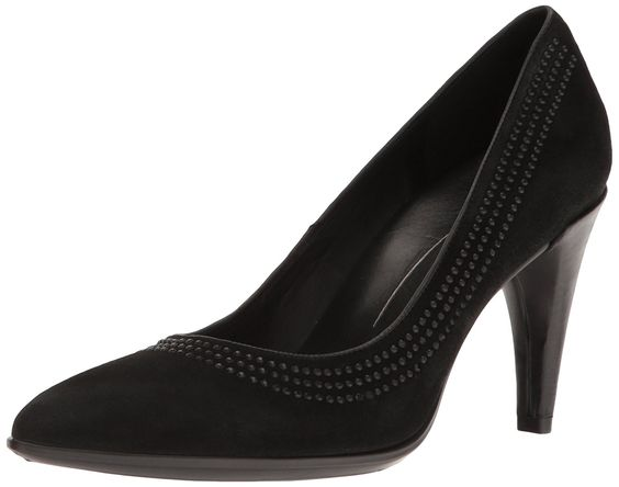 Shape Pointy Ballerina, Ballerines Femme, Noir (Black), 38 EUEcco