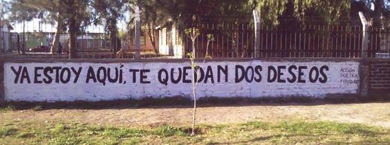 Acción Poética  #muros #lavidaesarte