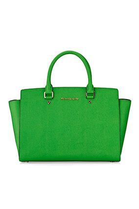 red pradas - Trapezoid-Shaped Handbags - Purse Trends | Michael Kors, Michael O ...