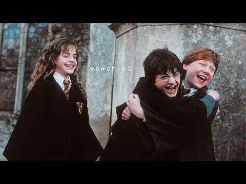 The Golden Trio Memories Youtube Harry Potter Pictures Harry Potter References Harry Potter Friendship