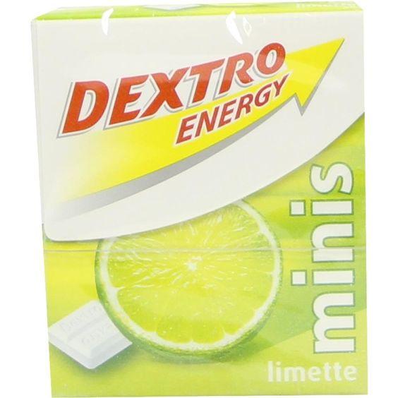 DEXTRO ENERGY Minis Limette:   Packungsinhalt: 50 g Täfelchen PZN: 05387943 Hersteller: Sidroga Gesellschaft für Gesundheitsprodukte mbH…