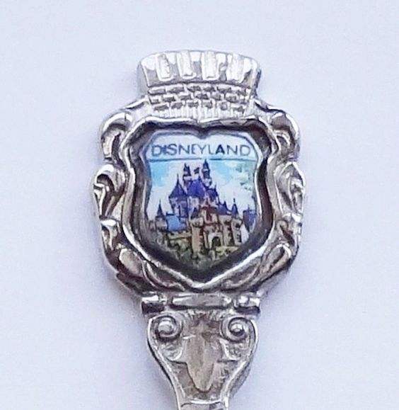 Collector Souvenir Spoon USA California Anaheim Disneyland