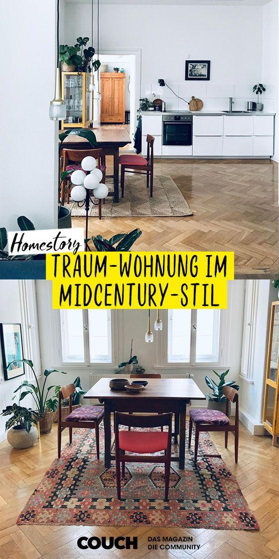Midcentury Wohnung In Hannover Wohnung Wohnen Schoner Wohnen