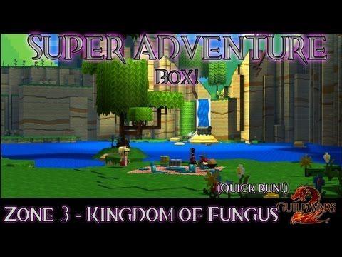 Super Adventure Box  Zone 3 - Kingdom of Fungus