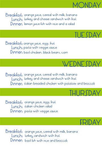 eat healthy with a college budget healthy living