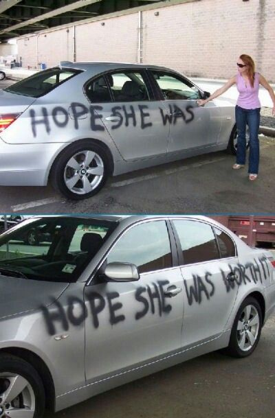 Hope she was worth it