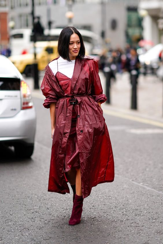 Work Yours Into a Monochrome Look in a Fall-Appropriate Shade | How to Wear a Trench Coat | POPSUGAR Fashion Photo 8