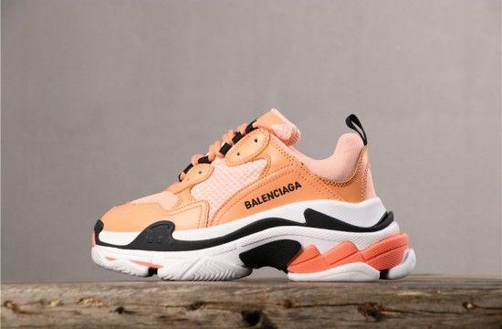Balenciaga Triple S Sneaker Coral