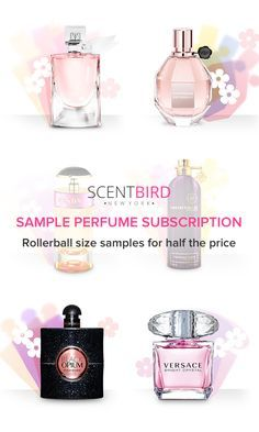 Now's your chance to try all those expensive perfumes you've been eyeing for only $14.95 a month. Sign up for Scentbird and choose from over 450 designer fragrances each month. Shipping is always free and you'll get a free refillable case with your first order.