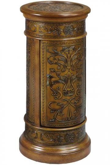Royal Round Pedestal - would look lovely with a bell jar on top.