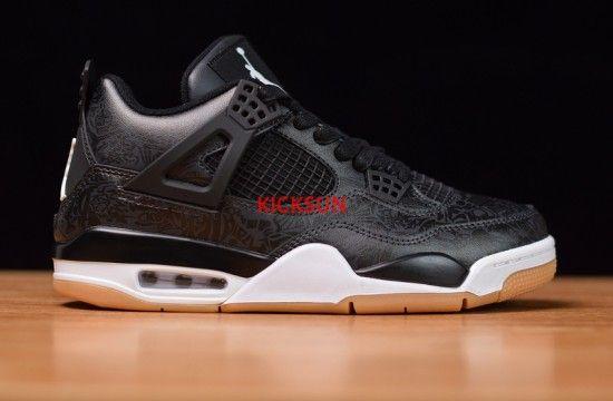 Air Jordan 4 Retro Laser Black Gum Ci1184 001 Air Jordans Nike Air Jordan Shoes Nike Fashion Shoes