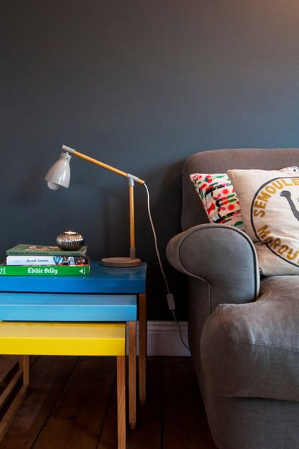 Eclectic Living Room by Amelia Hallsworth Photography