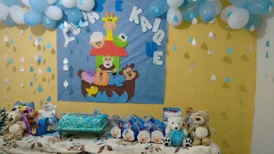Aniversário em casa Arca de Noé