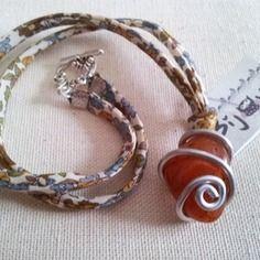 New * collier pierre de gaïa * tonicité