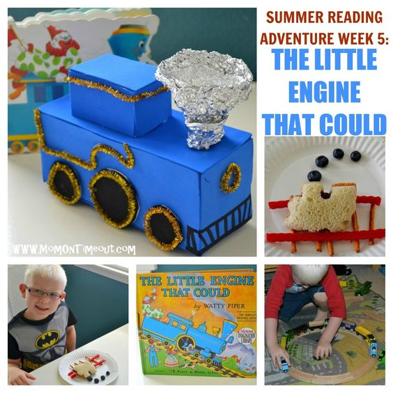 Mom On Timeout: Summer Reading Adventure: Week 5 - The Little Engine That Could