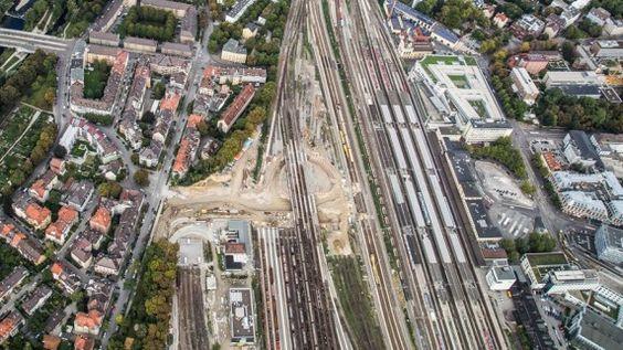 Augsburg: Der 146-Millionen-Tunnel von oben - Lokales (Augsburg) - Augsburger Allgemeine