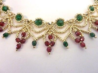 collier perle cascade
