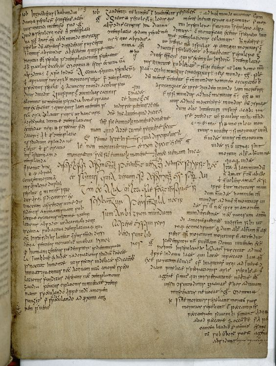 [#7] Book of Armagh, an Irish manuscript which dates from c. 9th century AD