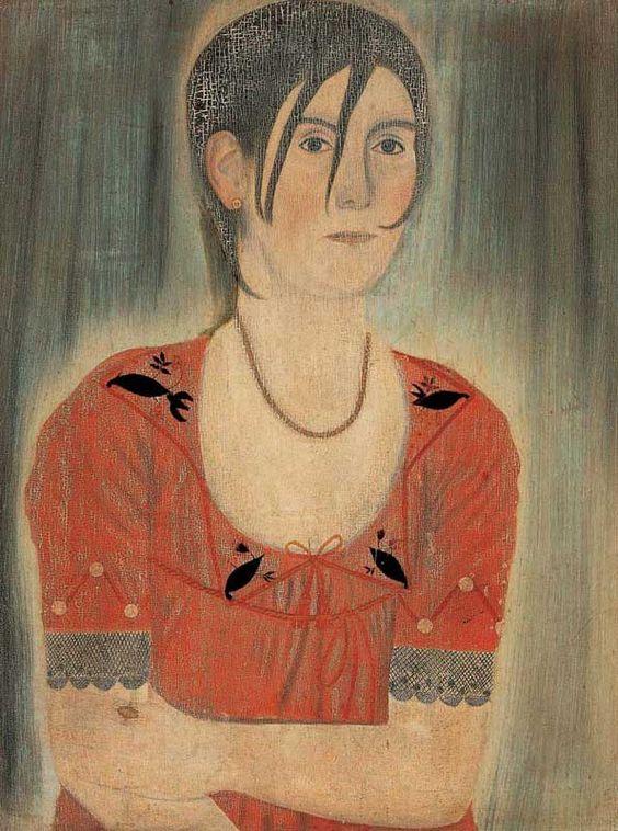 Artist unidentified  Vermont  c. 1805–1815  Oil on pine panel