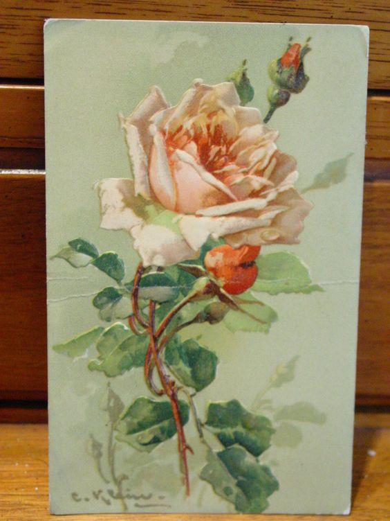 Duchess Trading: Artist inspiration-C. Klein, or Catarina Klein (1861-1929)