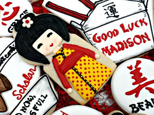Graduation Good Luck by Vicki's Sweets, via Flickr