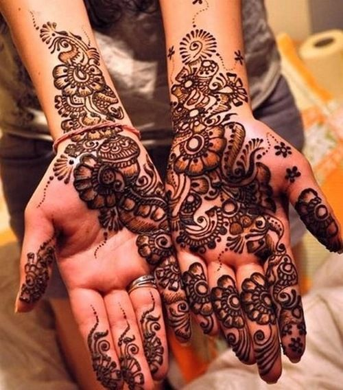 Indian Tribal Tattoos on Hands (7)