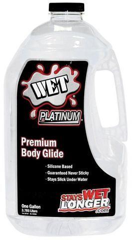 Wet Platinum Premium Lubricant - Wet Platinum Premium Body Glide<br />Longest Lasting, 100% Pure Silicone, Premium Formula. Silky Smooth. Wo... #sexlubes #sexlotions # #sextoys http://www.thebettypages.me